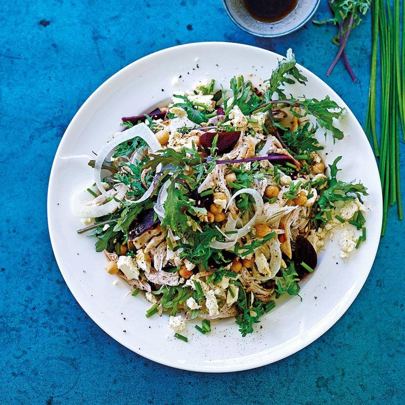 Foto Fenchel-Hähnchen-Salat mit Grünkohl von WW