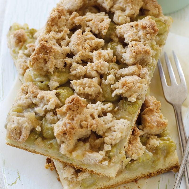 Foto Fränkischer Streuselkuchen mit Obst von WW