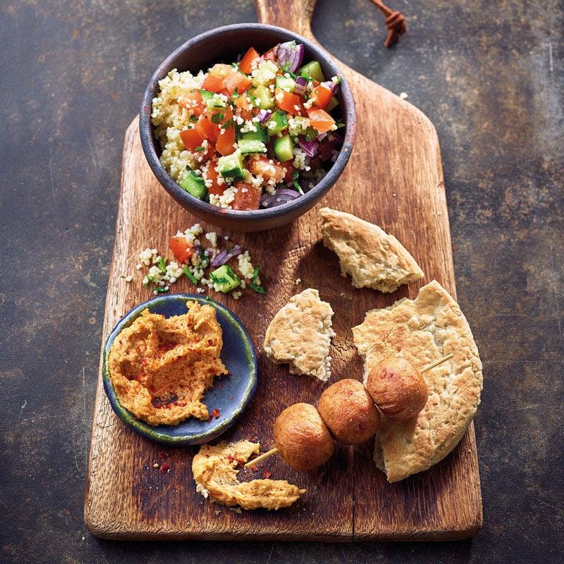 Foto Falafel mit Chili-Hummus von WW