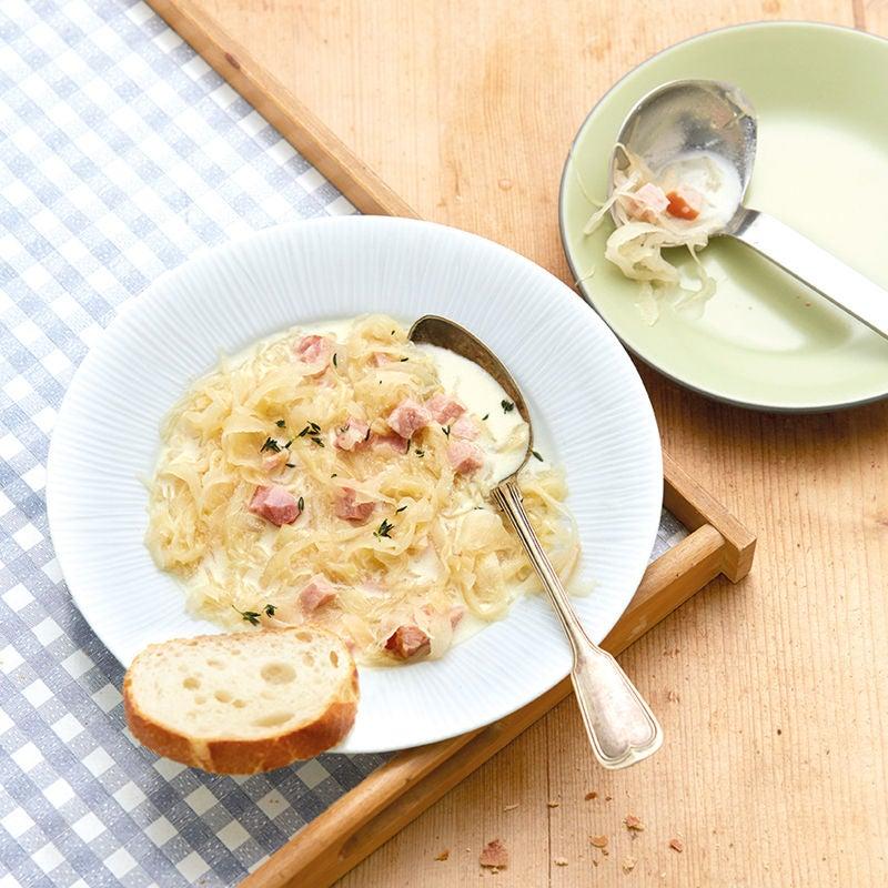 Foto Sauerkrautsuppe mit Kasseler von WW