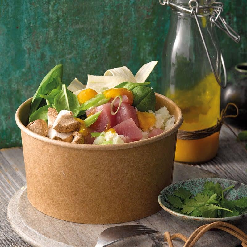 Foto Poke Bowl mit Thunfisch und Blumenkohlreis von WW
