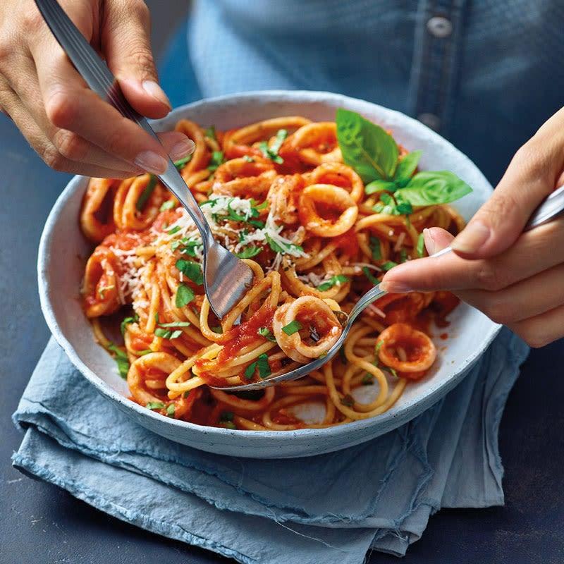 Foto Spaghetti Calamari von WW