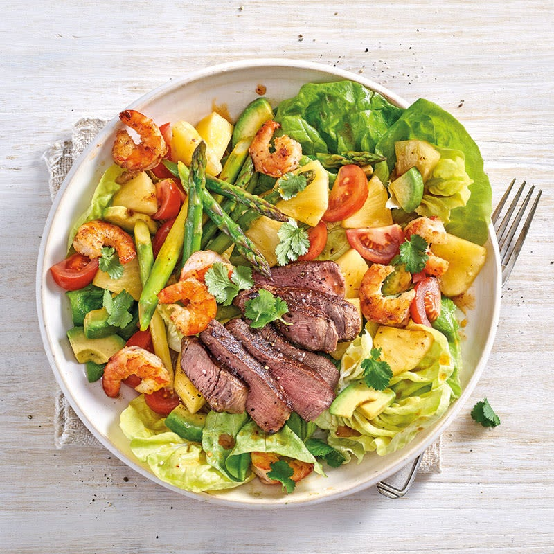 Foto Surf-and-Turf-Salat von WW