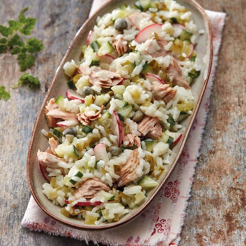 Foto Thunfisch-Reis-Salat mit Radieschen von WW