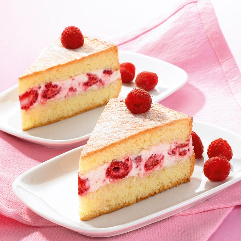 Himbeer Frischkase Kuchen