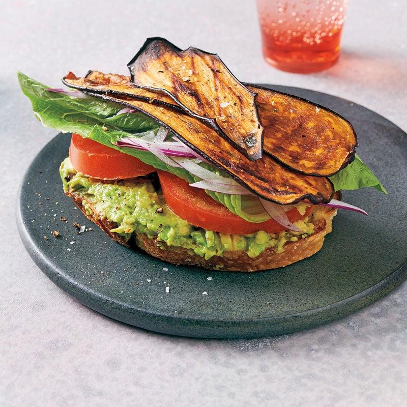 Foto Auberginen-Sandwich mit Avocado von WW