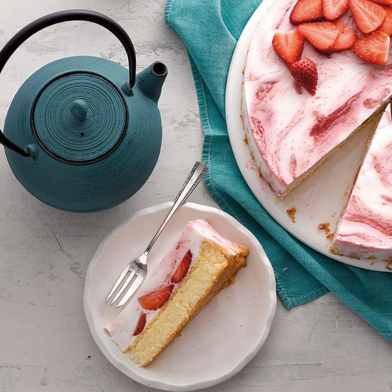 Foto Erdbeer-Buttermilch-Torte von WW