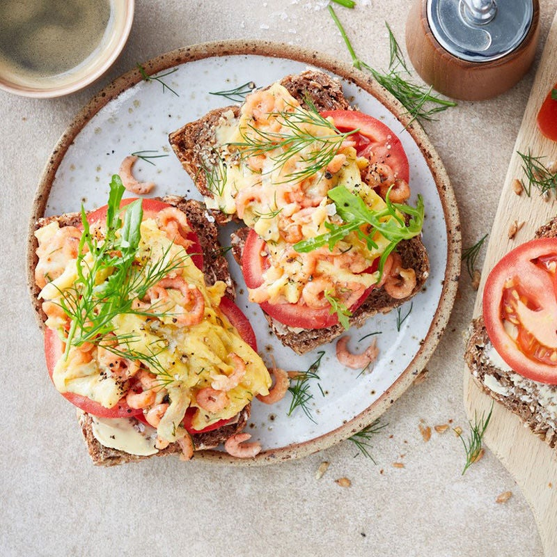 Foto Rührei-Krabben-Brote von WW