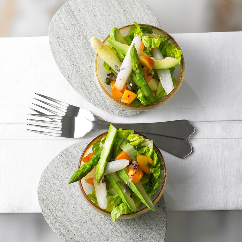 Foto Spargelsalat mit Avocado und Aprikose von WW