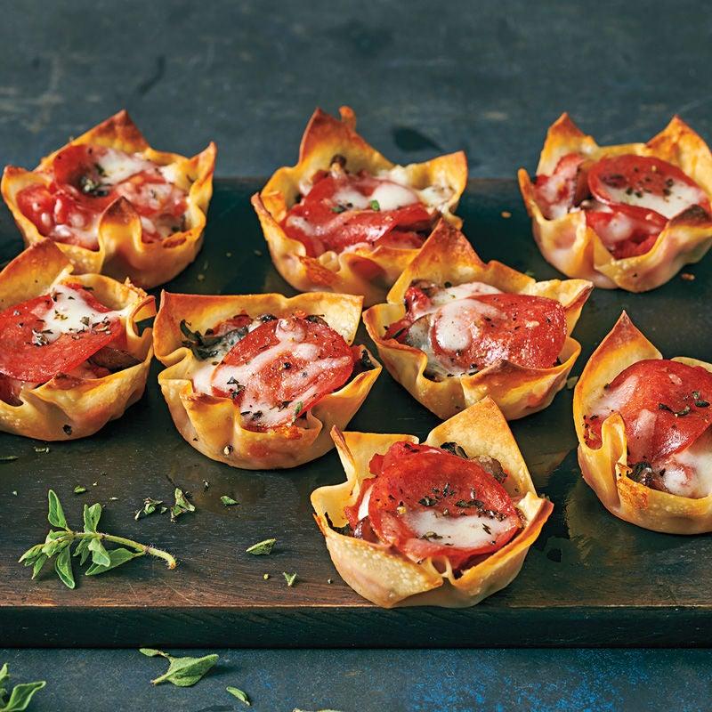 Foto Salami-Pizza-Muffins von WW