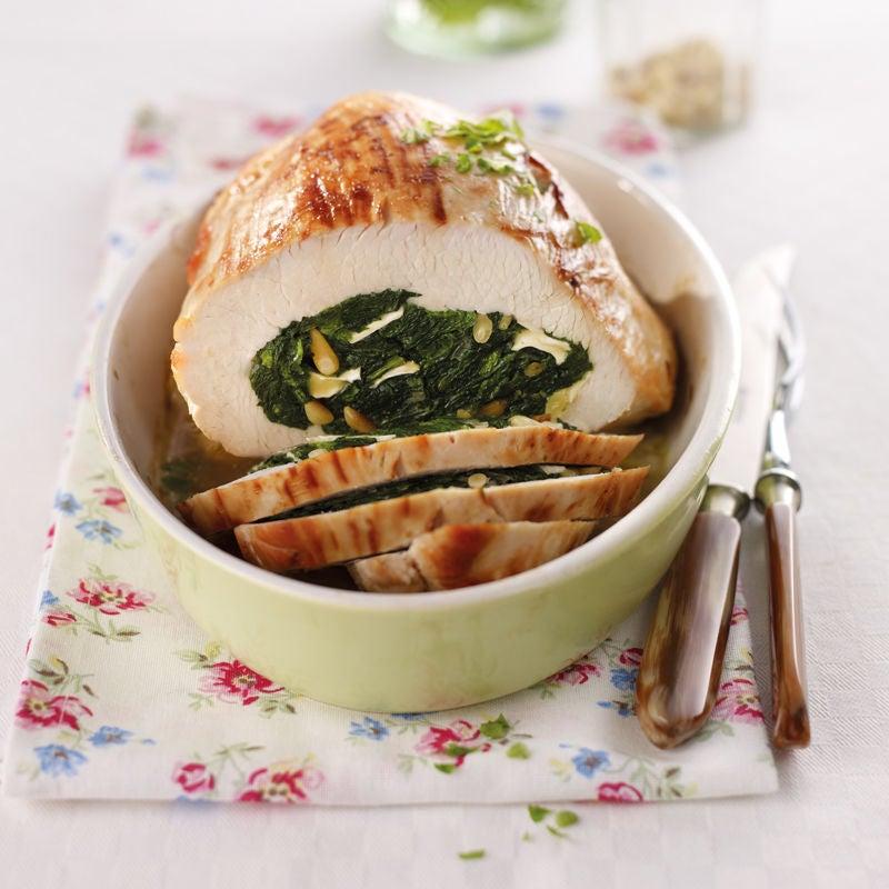 Foto Putenbrust mit Spinat-Camembert-Füllung von WW