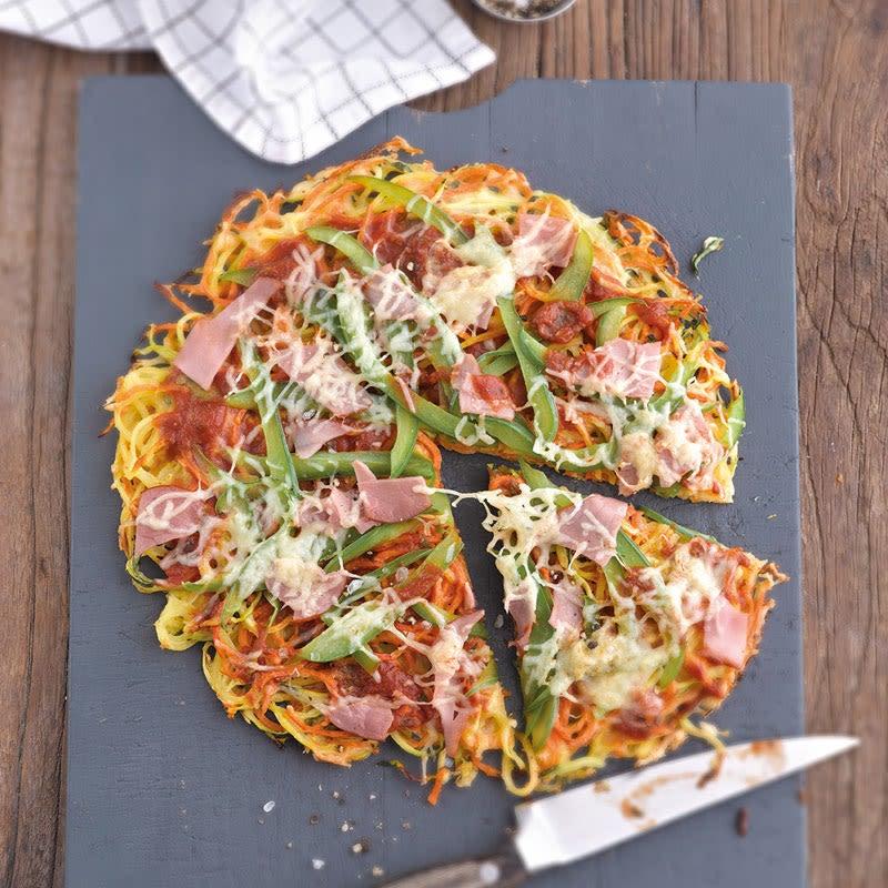 Foto Zucchini-Karotten-Pizza von WW