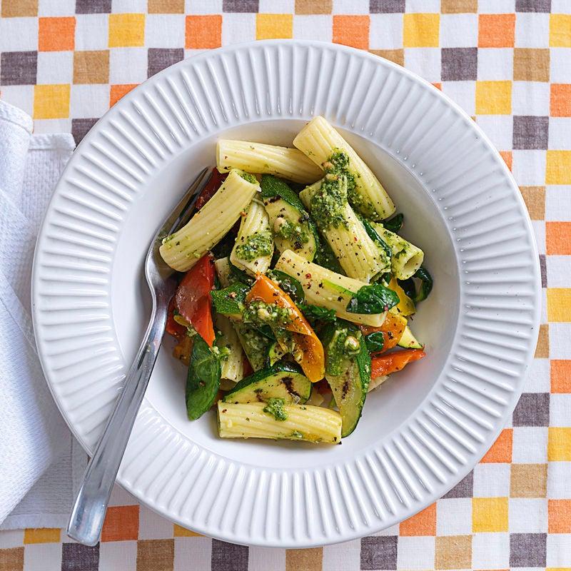 Foto Tortiglioni Pesto mit Zucchini von WW