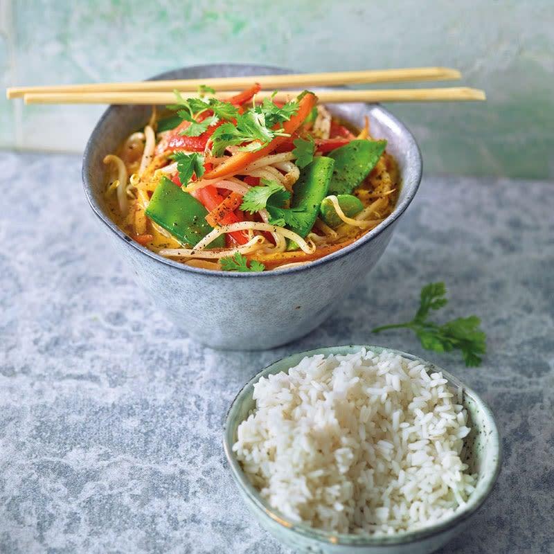 Foto Gemüse-Kokos-Curry von WW