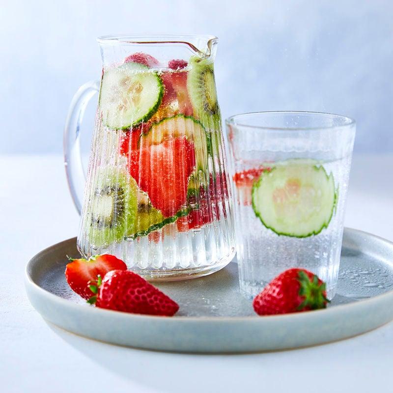 Foto Erdbeer-Gurken-Wasser von WW