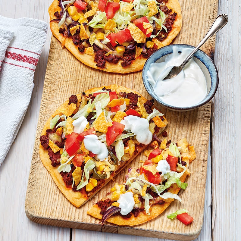 Foto Taco-Pizza Mexican Style von WW