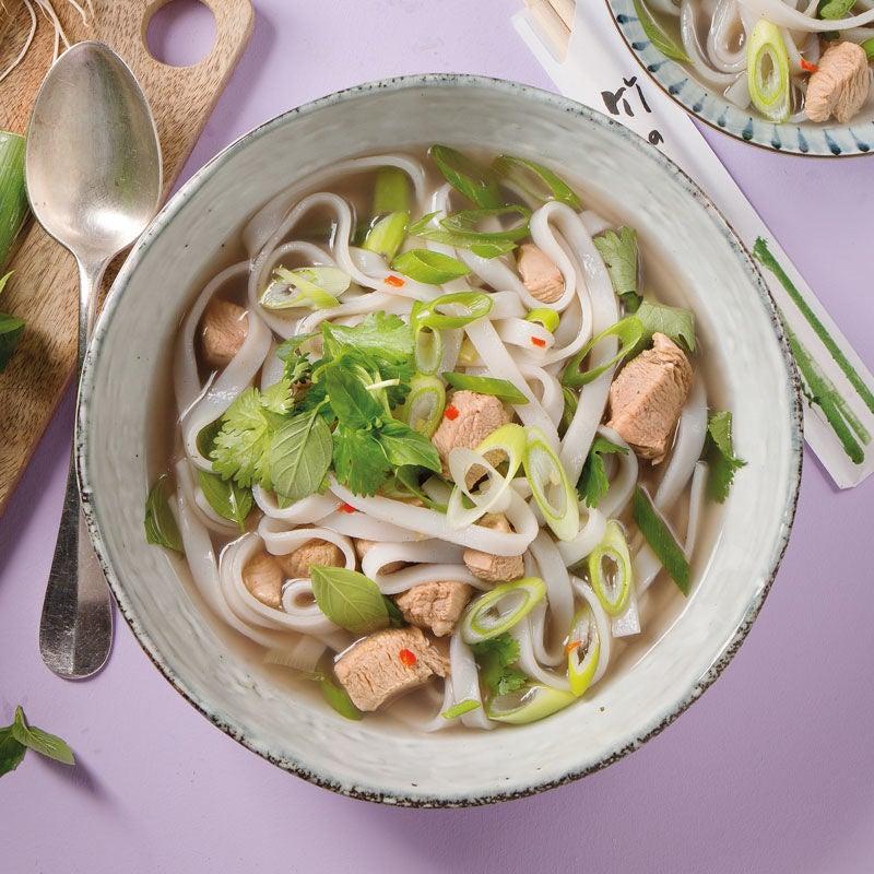 Foto Pho Ga - Vietnamesische Suppe mit Reisnudeln von WW