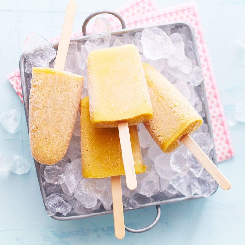 Foto Mango-Kokos-Eis am Stiel von WW