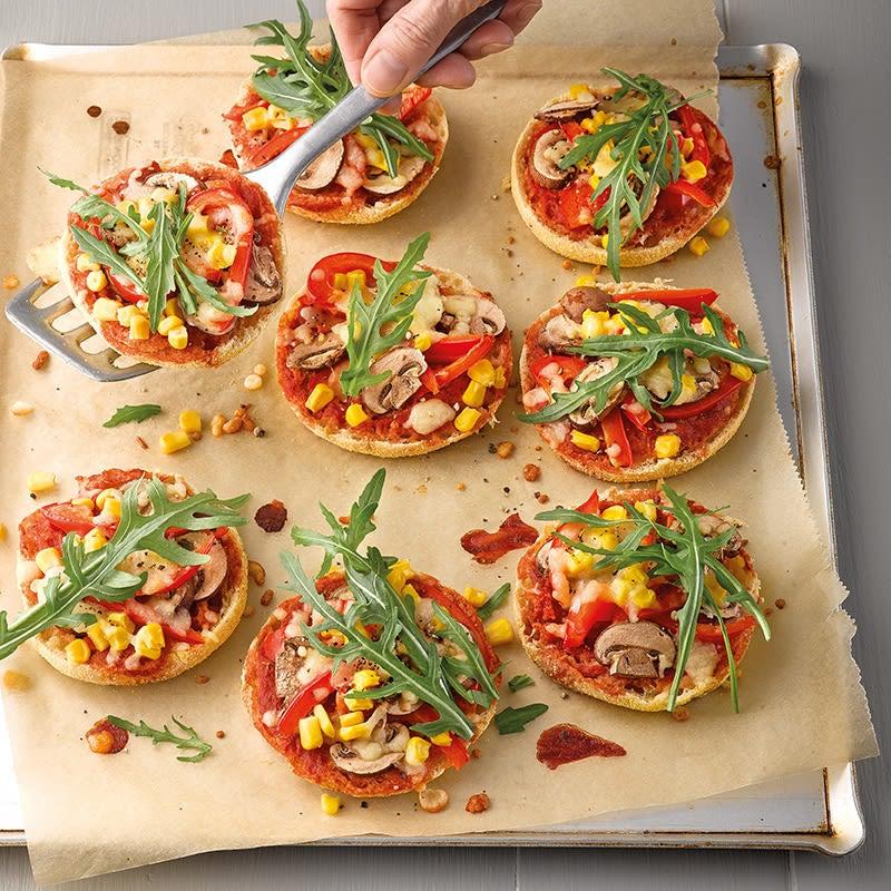Foto Pizza-Toasties mit Champignons von WW