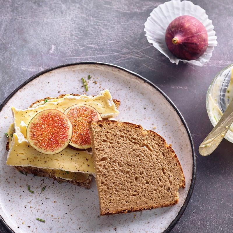 Foto Camembert-Feigen-Brot von WW